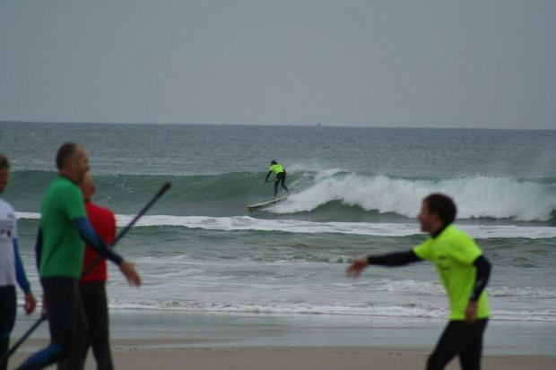 Marc Hambidge SUP surf comp