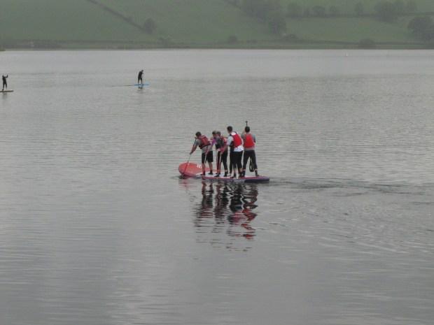 Giant SUP #supbikerun Wales