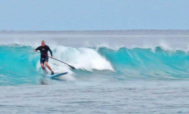 Pete Cockill Maldives surf 3