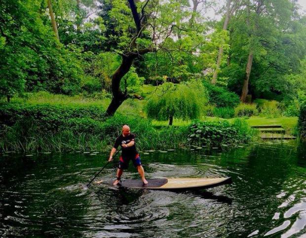 Neptune SUPs river sweep