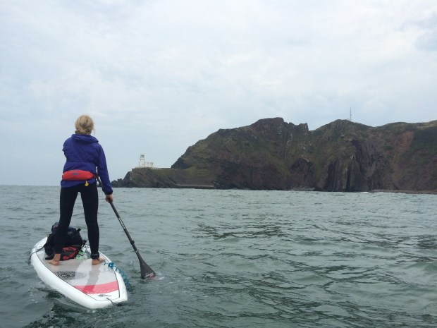 Cal Major paddling