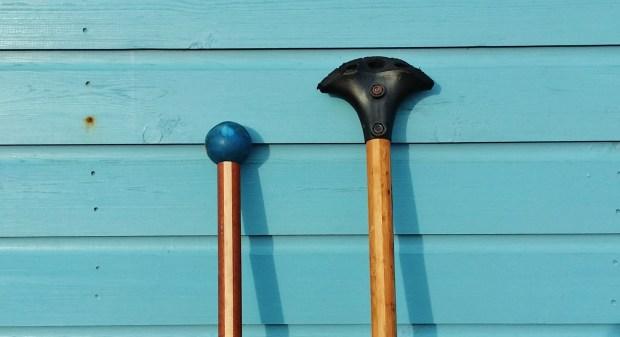 Land paddle blade types