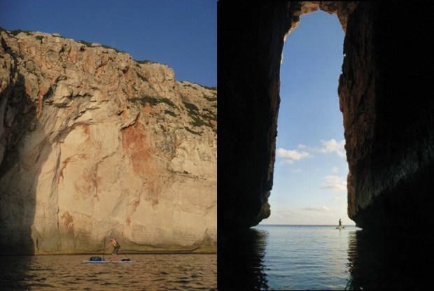 SUP circumnavigation of Menorca - Roger Chandler