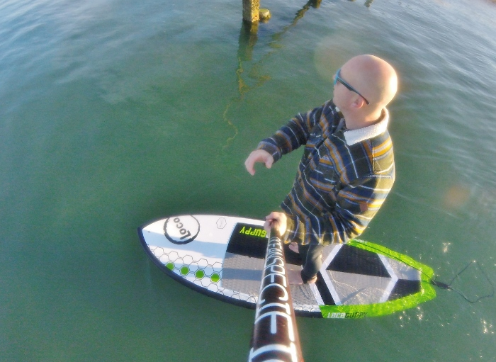 """Tooled up! – Loco Guppy 8'6 x 31"""" x 130L 2020 hard SUP review."""