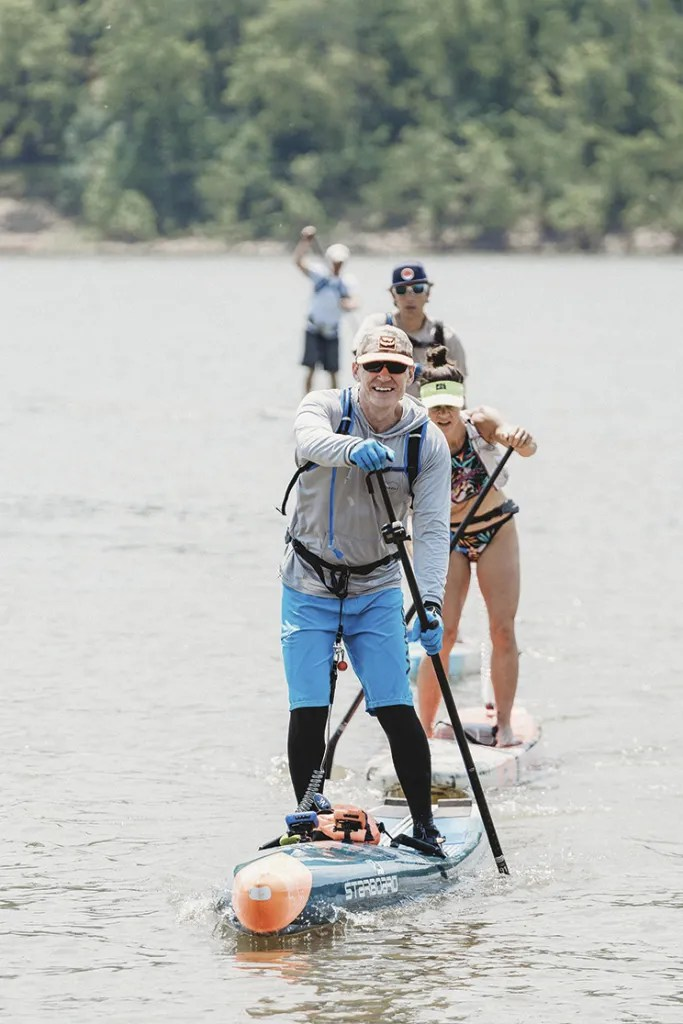 Adrian Angell on the Ohio River