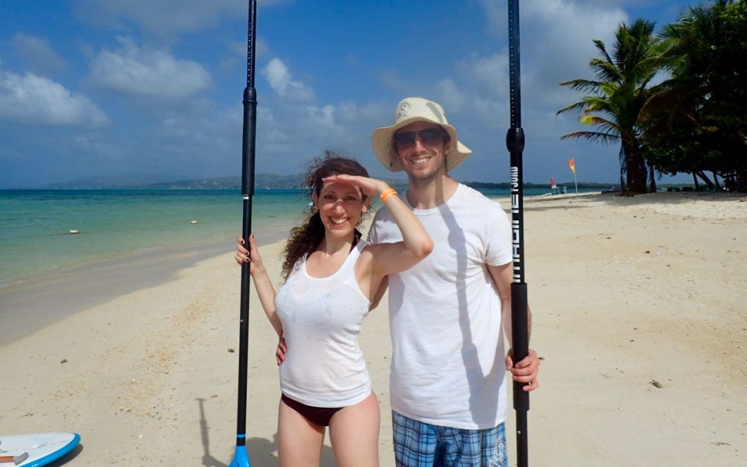 Stand Up Paddling as a Couple