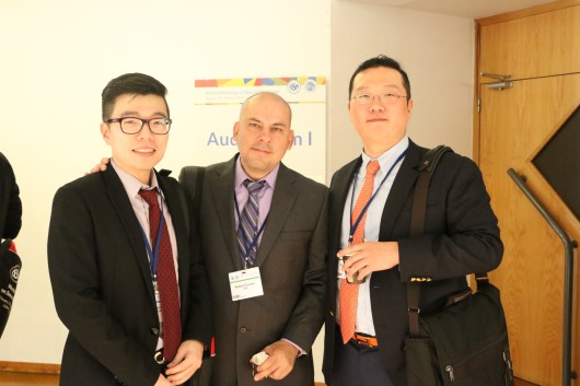 Dr. Park with Dr. Rafael Carrion