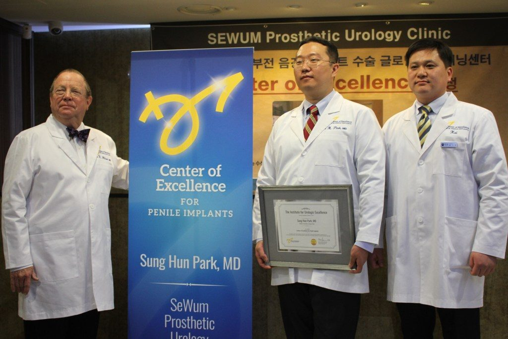 Dr. Park Dr. Wilson Penile Implant Center of Excellence