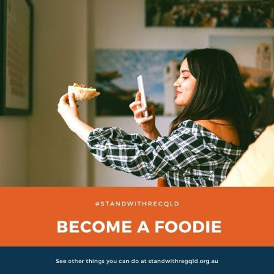 Become a foodie and buy local produce