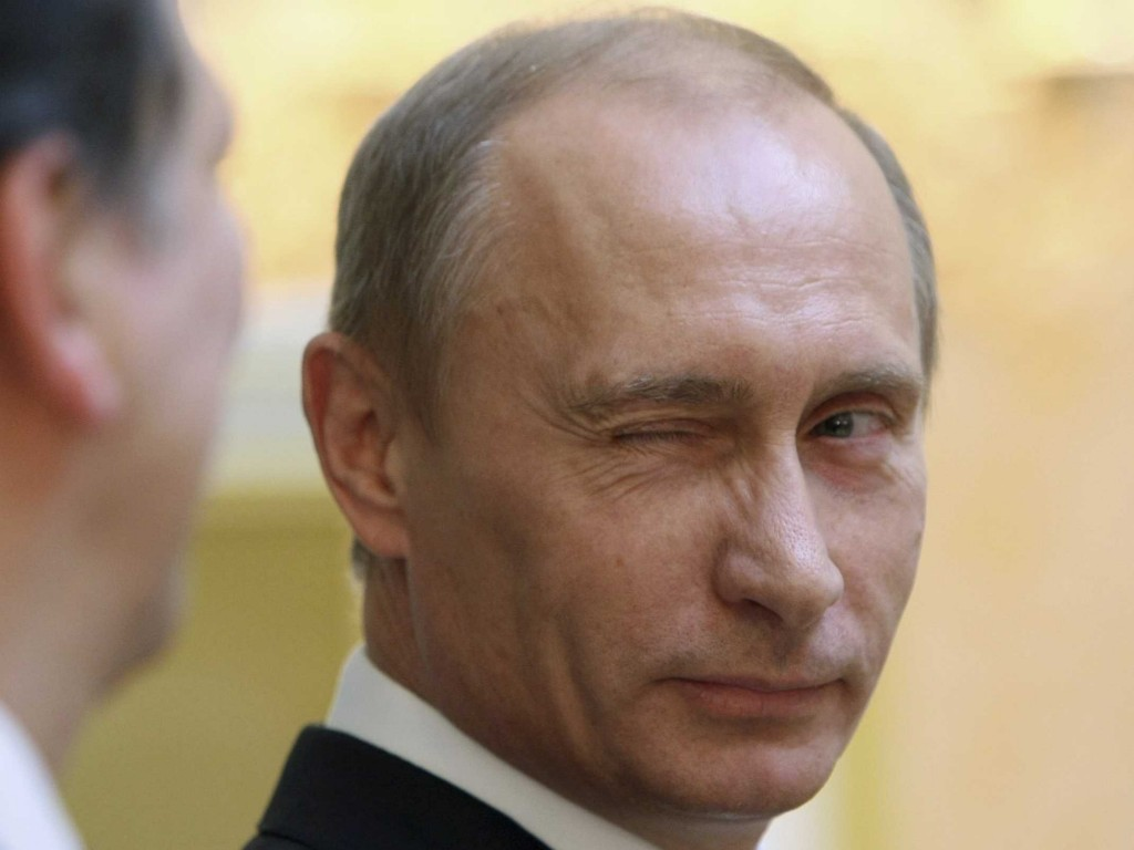 Image result for PUTIN SMIRK PICTURES