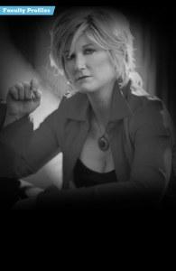 Dena DeRose teaches vocals at Stanford Jazz Workshop's Jazz Institute, a summer music camp focused on jazz on the campus of Stanford University.