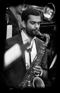 Kushal Talele teaches saxophone at Stanford Jazz Workshop's Jazz Camps and Jazz Institute, summer music camps focused on jazz on the campus of Stanford University.