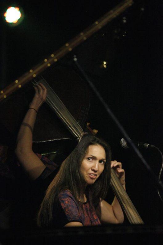 Katie Thiroux - contrabass