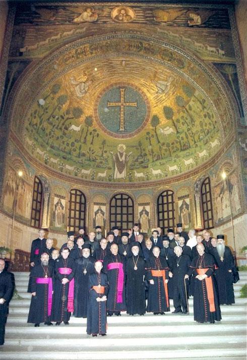 Учесници скупа у Равени
