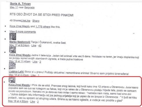 Fejsbuk komentar zbog koga je Kosta Magdu proveo 10 dana u pritovru.