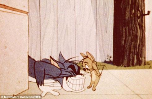 Цртани је направљен 1940. године, и у његовом средишту је ривалитет мачке (Том) и миша (Џери)