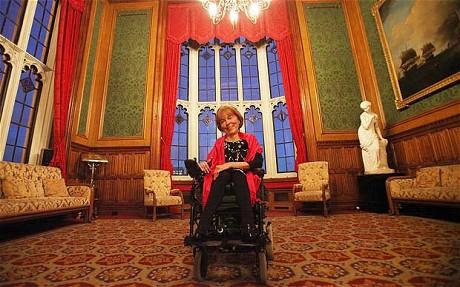 Баронеса Кембел (Извор: The Telegraph)