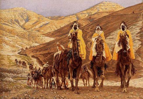 """Џејмс Тисо: """"Путовање мудраца са Истока"""" (1894)"""