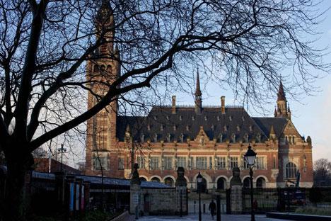 Зграда Међународног суда правде у Хагу (Извор: Политика)