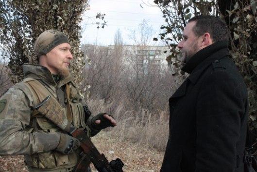 Мануел Оксенрајтер и Велики Славјан у Луганску