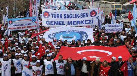 Анкара, 04.04.2015 - протест турских синдиката у Анкари