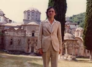 На ходочашћу по вечној Србији: Комнен Бећировић у Хиландару, августа 1977.