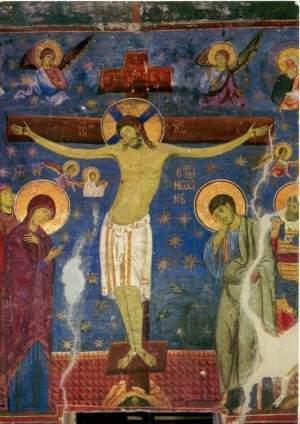 """Студеничко распеће (1205), један од највиших домета целе хришћанске уметности. Објављено у великом француском недељнику """"Лепоан"""""""