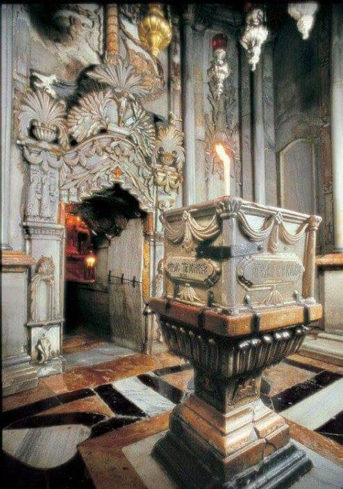 Свети Гроб Господњи – параклис анђела (место на коме је анђео стајао и показао на празан гроб)