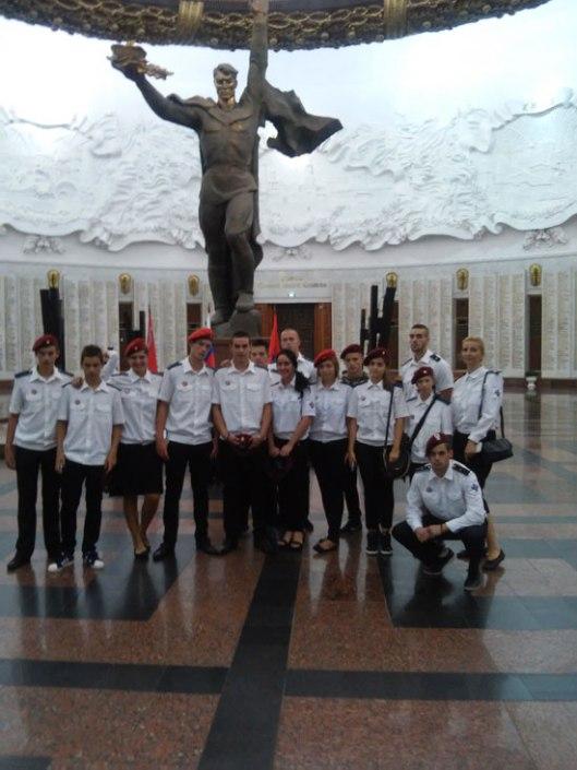 Српскa делегaцијa у Музеју Отаџбинског рата