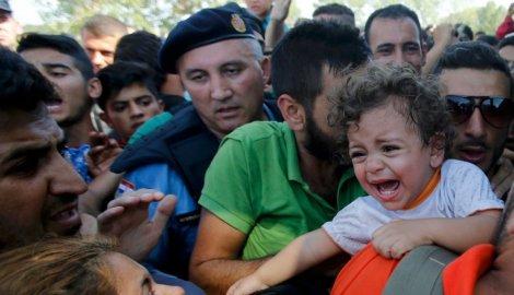 Љубав Хрвата и њихове полиције према мигрантима