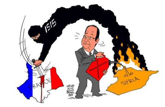 Карикатура: Carlos Latuff
