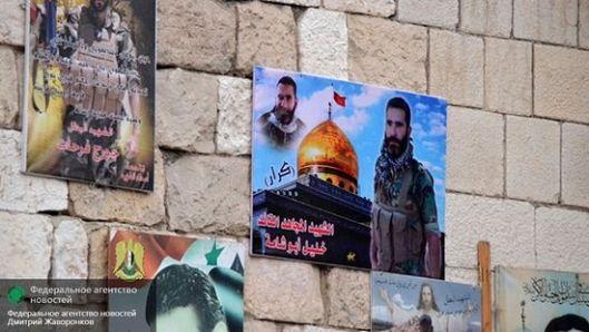 Фотографије сиријских војника који су погинули у борбама против ИД