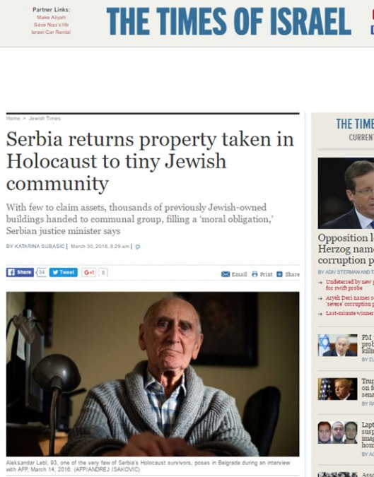 times-isreal-serbia