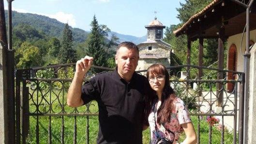 Звонко Михајловић и Оксана Сазонова (Извор: иКос.рс)