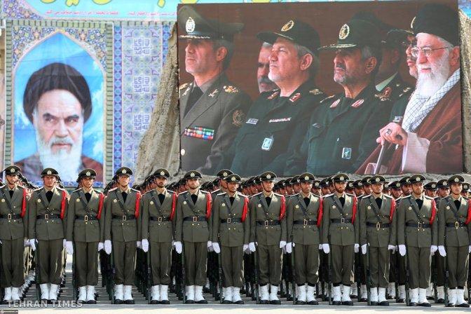 Иранска војска (Фото: Tehran Times)