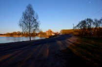 Озеро - вид на церковь. Станьково. Лето 2011. Фото Ильи Бражникова