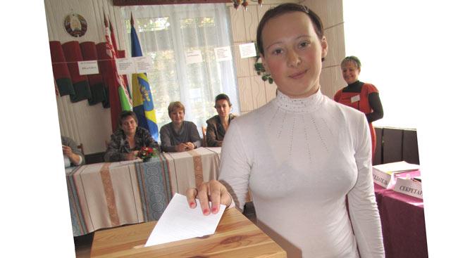 начал свою работу избирательный участок в агрогородке «Станьково»