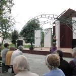 В дзержинском парке свою творческую «визитную карточку» представил коллектив Станьковского Дома культуры