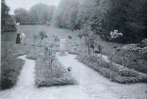 Станьково, фрагмент парка, 1914 г.