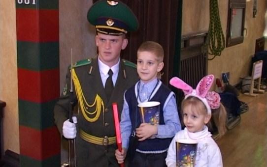 Новогодний сюрприз детям. Воспитанники приюта побывали в цирке.