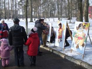 Празднование масленницы в Станьково 22.02.2015 (19)