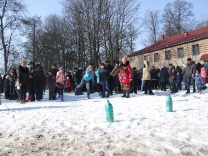 Празднование масленницы в Станьково 22.02.2015 (30)
