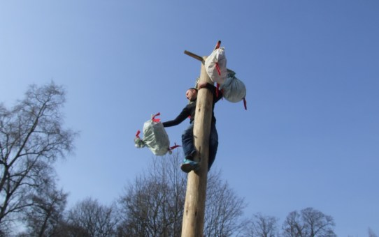Масленица в станьковском парке: первый блин не комом!