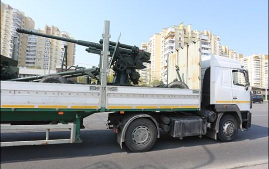 Военная техника покидает Станьково