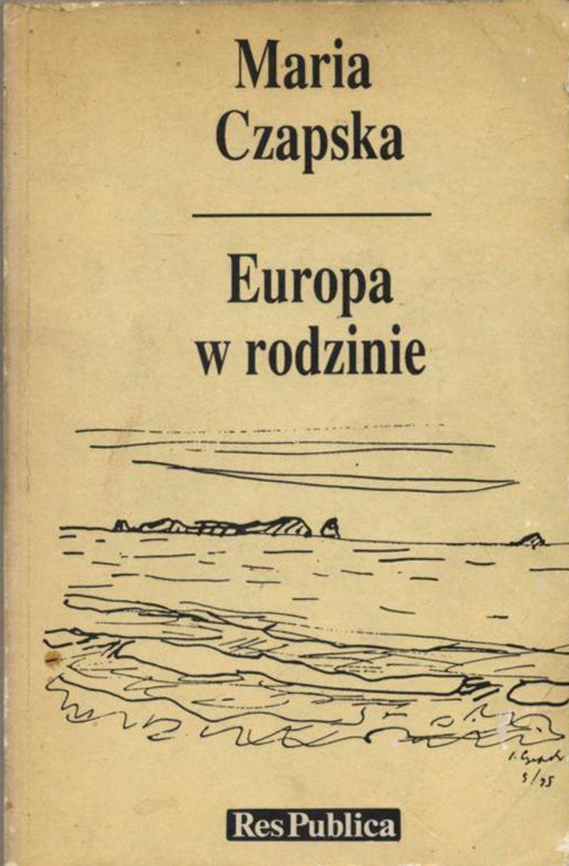 Обложка книги Марии Чапской.