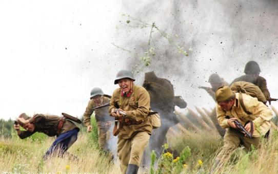В Станьково сняты первые кадры художественного фильма о войне