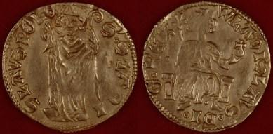 Золотой дукат Владислава Локетки, Польша, ок. 1330 г.
