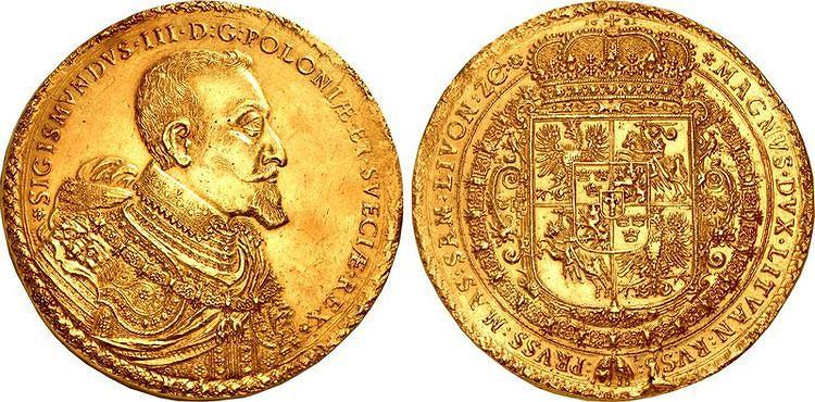 Монета, подобная из коллекции Эмерика Гуттен-Чапского, может быть продана за 2 миллиона долларов