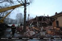 Взрыв в бывшей воинской части в Станьково. Фото Максим Гучек BELTA.BY