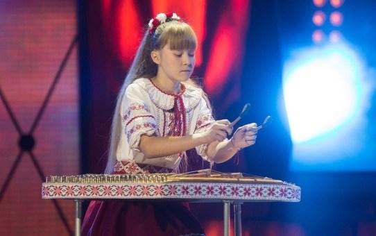 Голосуйте за Анастасию Каспорскую, участницу шоу «Талент краіны - 3» на ОНТ